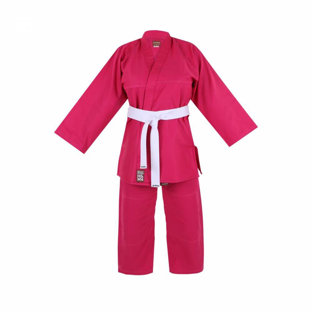 Kimono Infantil Refor. Judo / Jiu-Jitsu  Haganah - Rosa