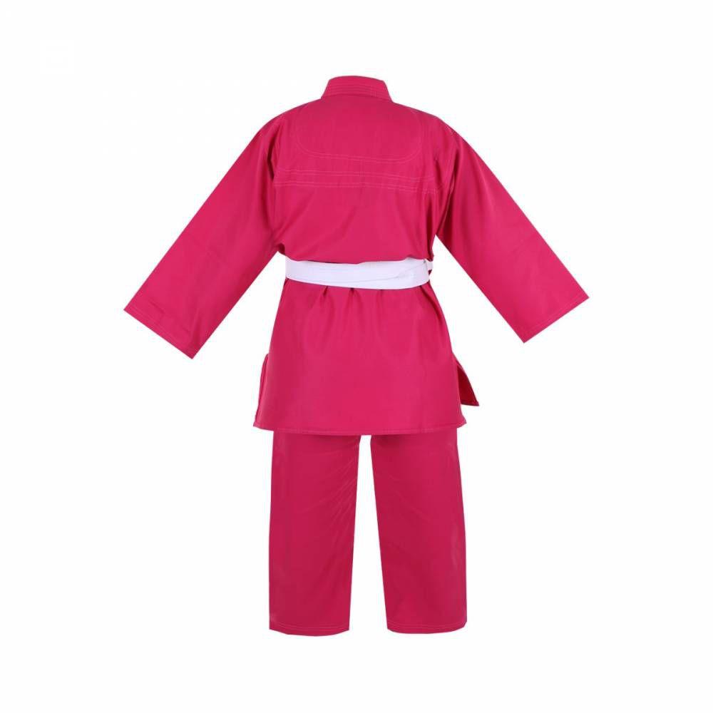 Kimono Infantil Refor. Judo / Jiu-Jitsu  Haganah / Torah - Rosa