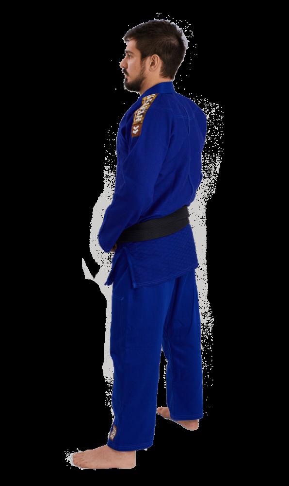 Kimono Judô Tradicional Haganah - Azul
