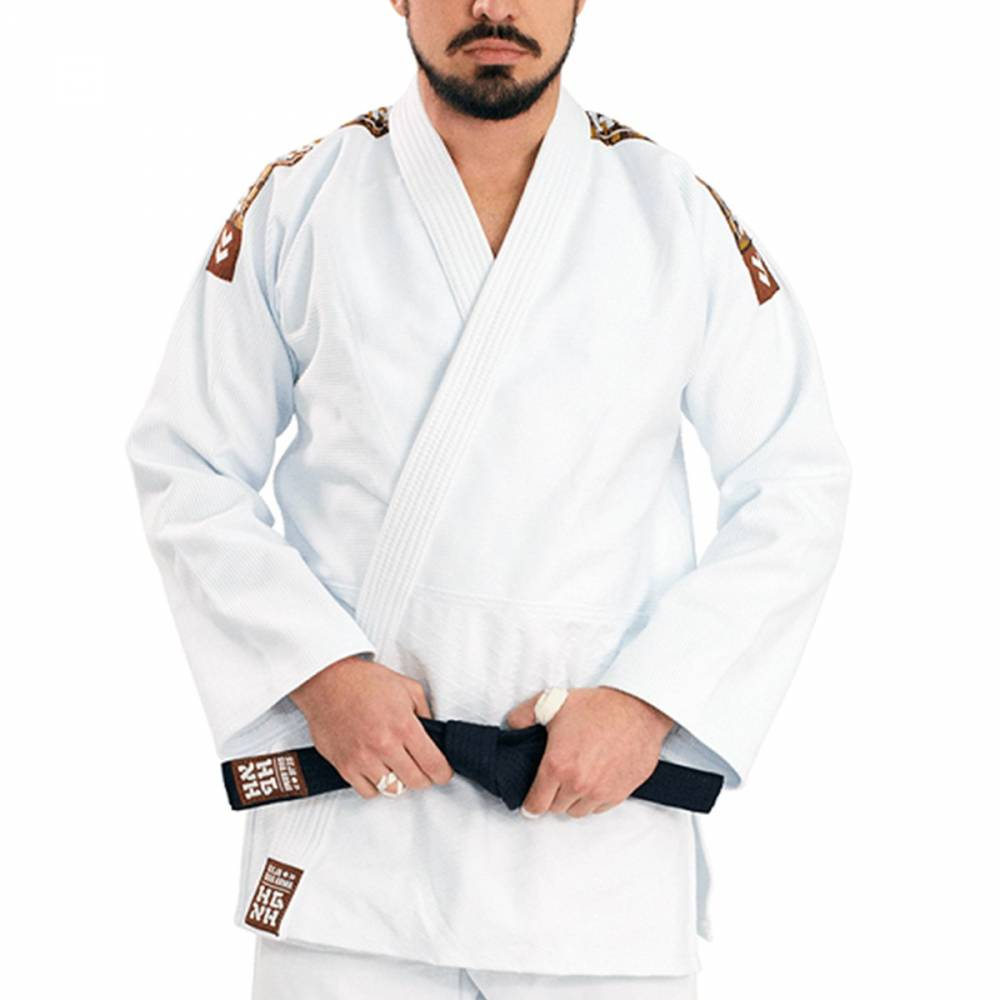 Kimono Judô Tradicional Haganah - Branco