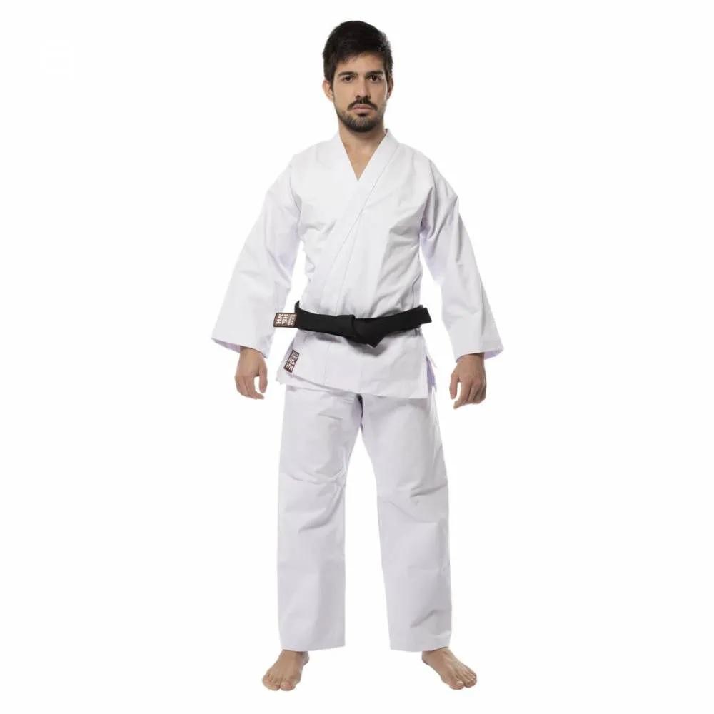 Kimono Karatê Lonado K10 Branco - Haganah