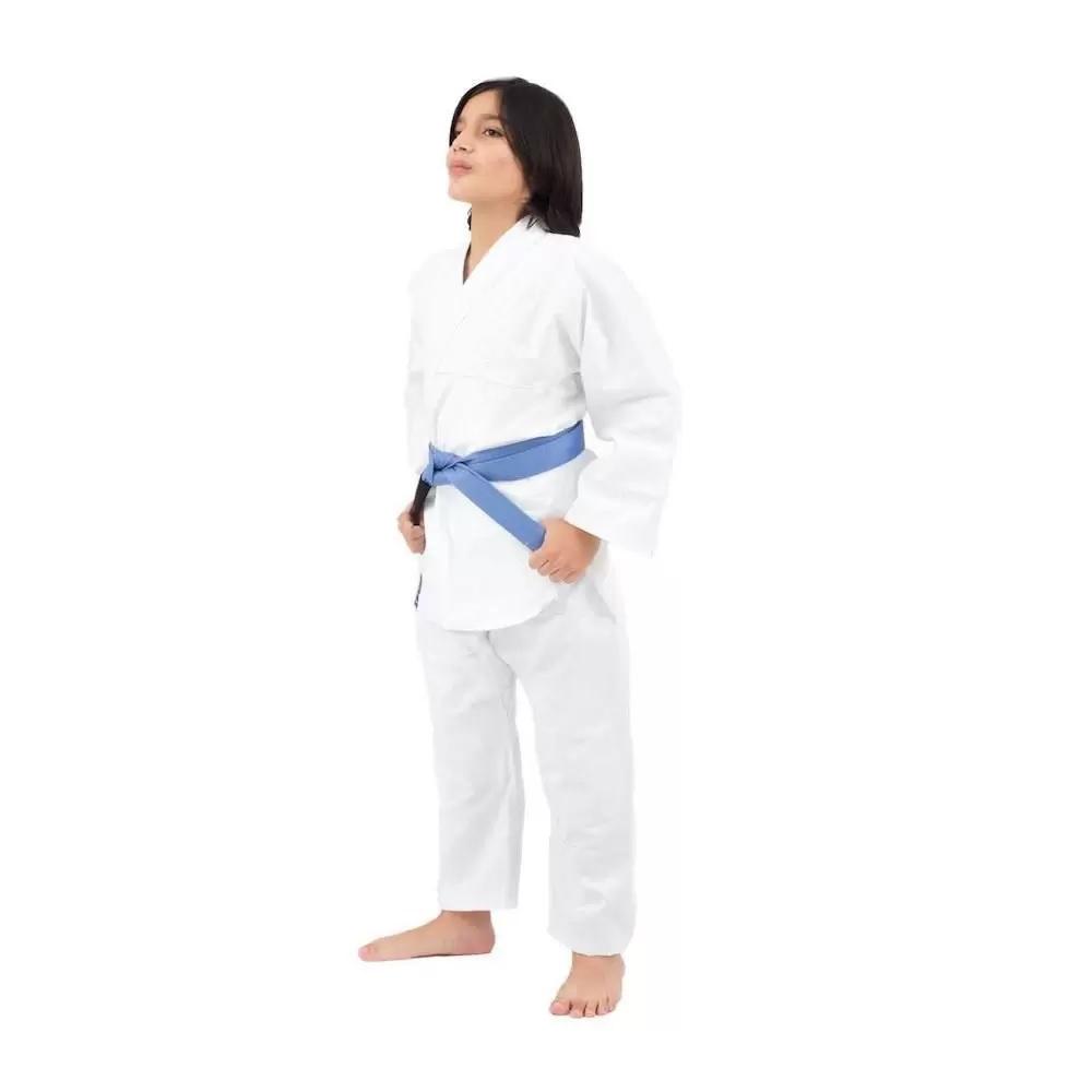 Kimono Lonado Especial K10 Kids Karate Torah - Branco