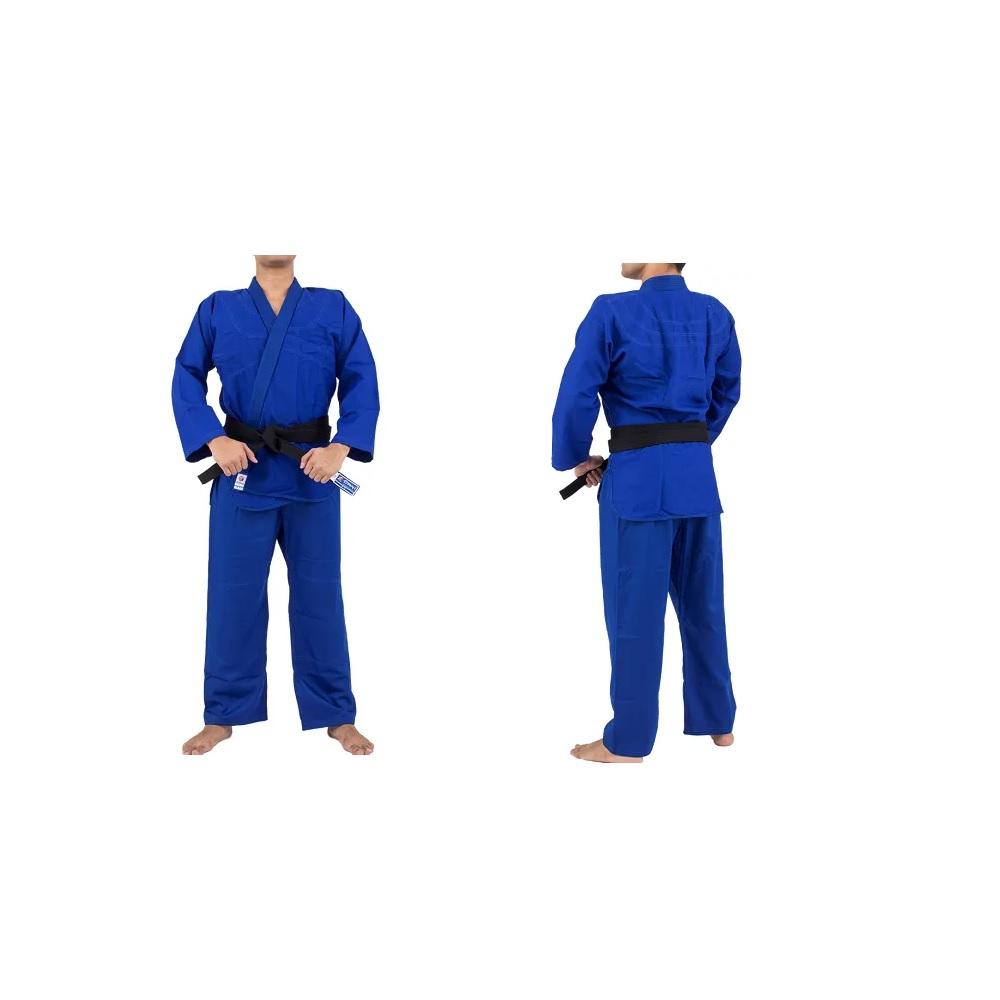 Kimono Torah Reforçado - Judo / Jiu Jitsu Azul - A5