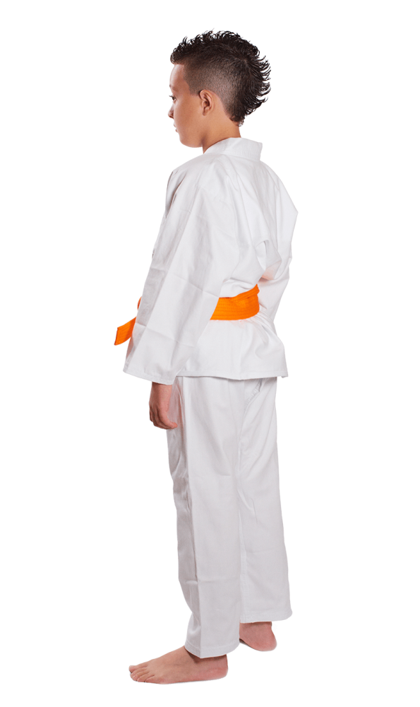 Kimono Reforçado Karatê Infantil Branco - Haganah