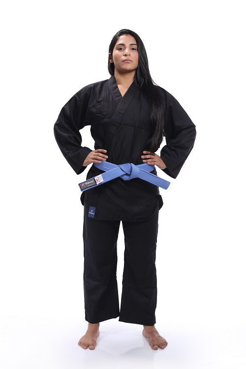 Kimono Reforçado - Kung Fu - Torah - Preto - A4