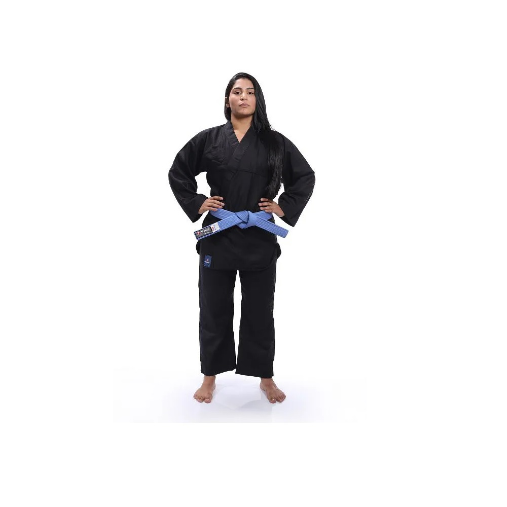 Kimono Reforçado - Kung Fu - Torah - Preto - A5