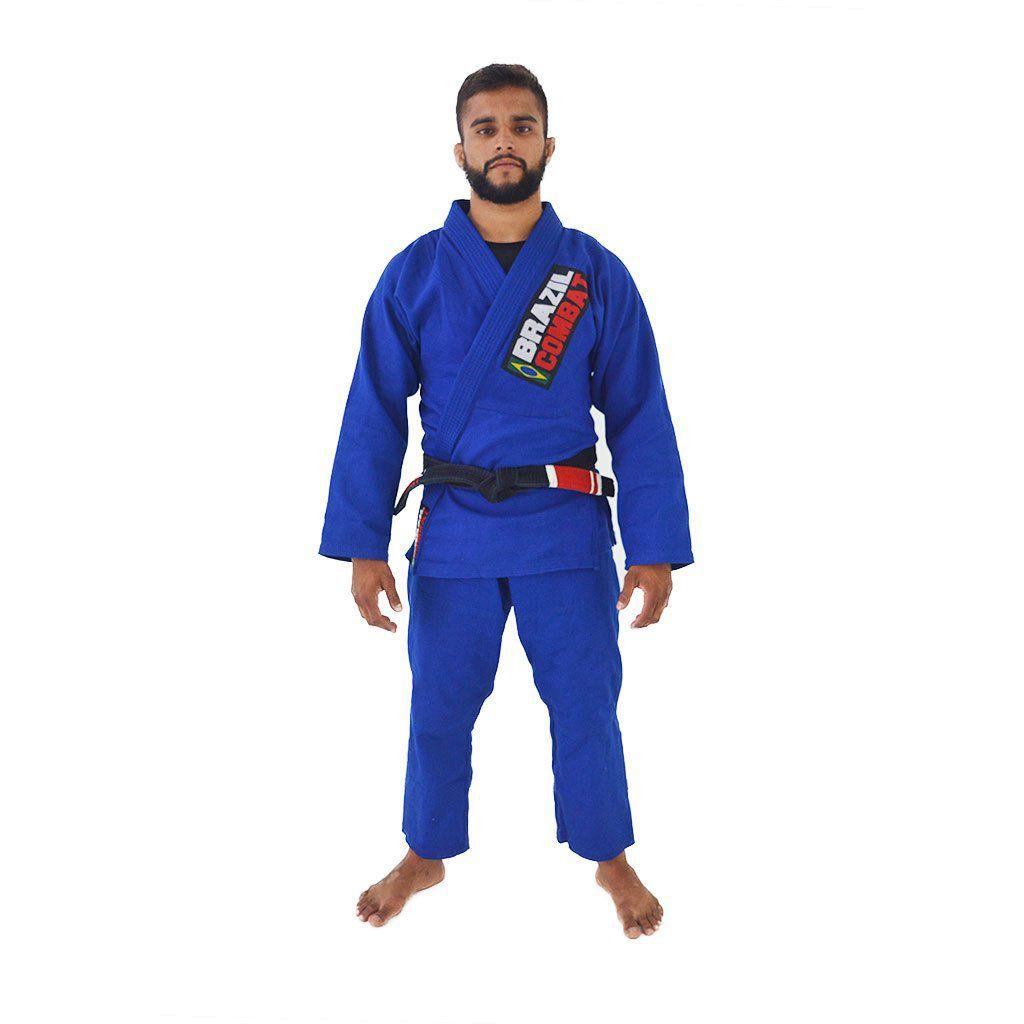 Kimono Starter Brazil Combat - Azul