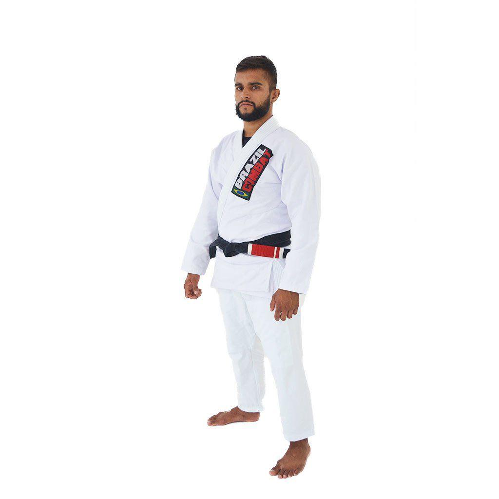 Kimono Starter Brazil Combate - Branco