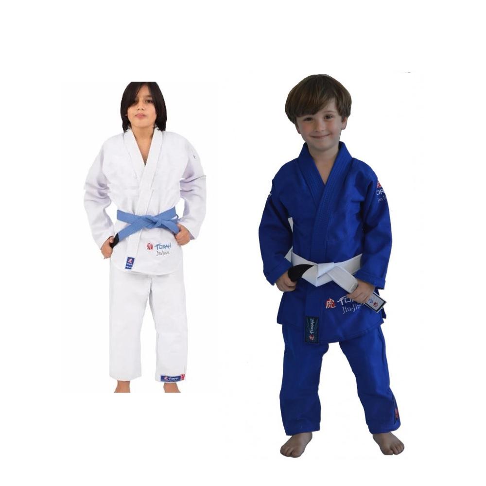 Kimono Trançado Mirim Torah - Jiu Jitsu