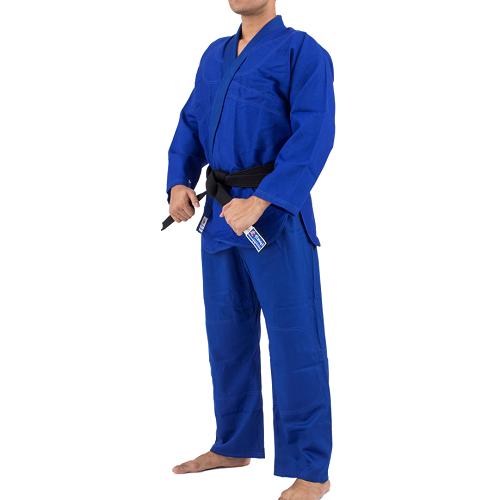 Kimono Trançado Training Judô / Jiu-Jitsu Torah - Azul