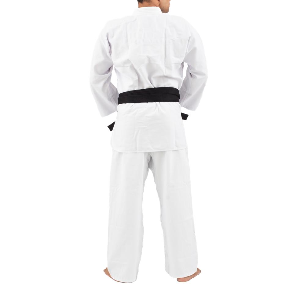Kimono Trançado Training Judô / Jiu-Jitsu Torah - Branco - JR