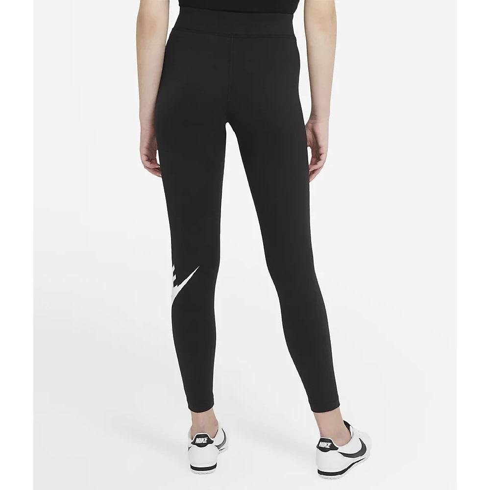 Calça Legging Nike NSW Essential Feminino - Preto / Branco