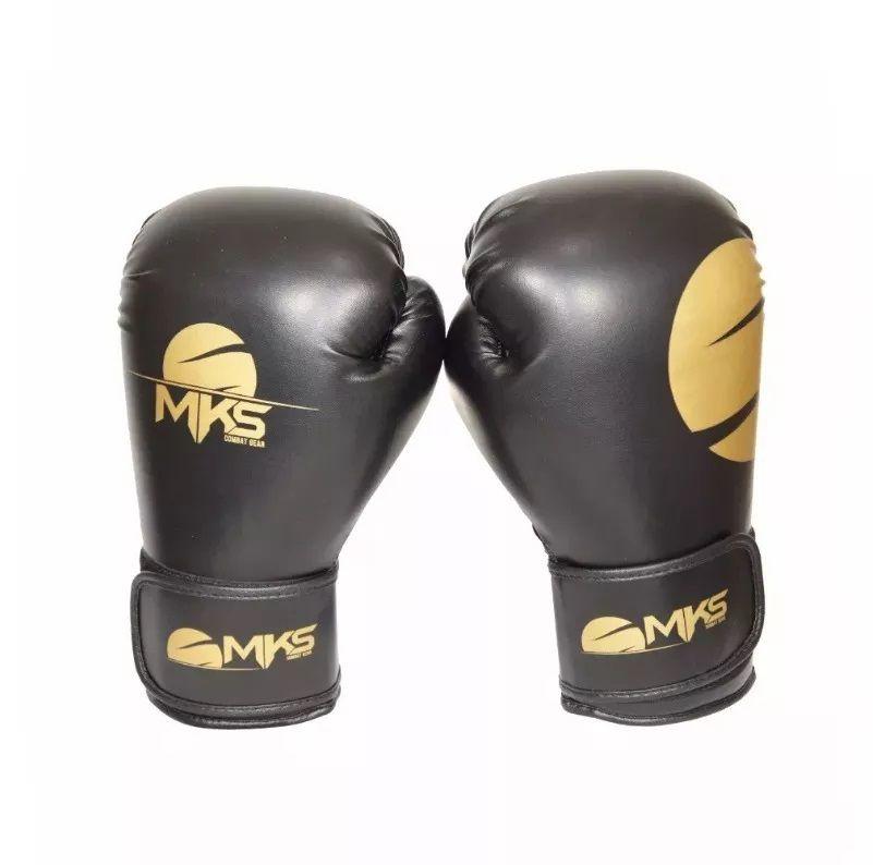 Luva Boxe Champions Gold - Mks
