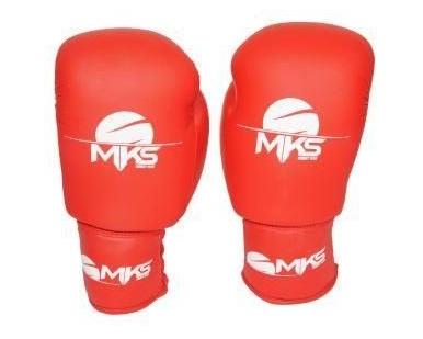 Luva de Boxe Infantil Mks Vermelho - 8 Oz