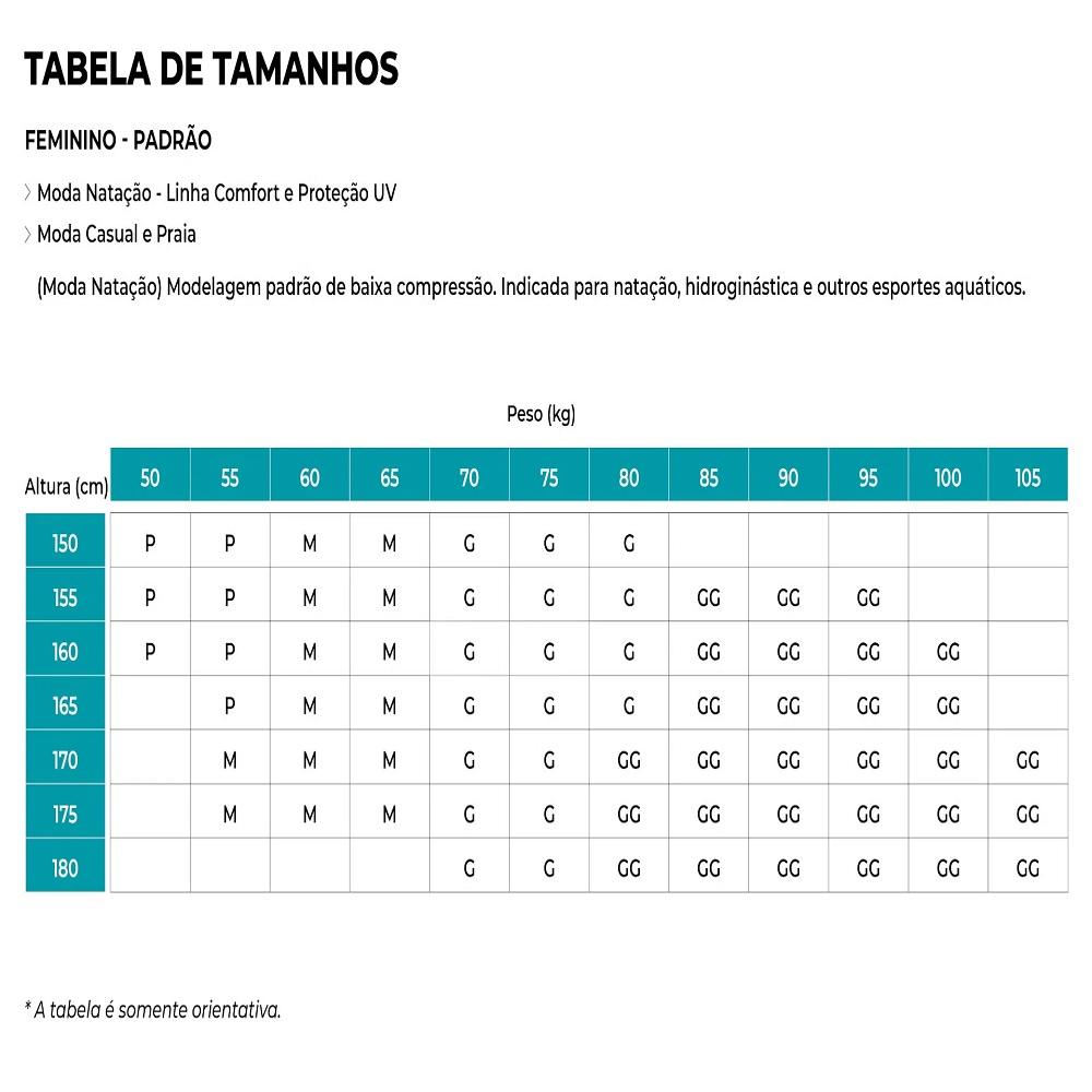 Maiô Fabíola Molina Sem Compressão - Preto