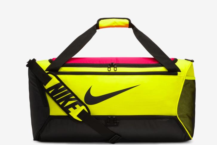 Compuesto aniversario Síguenos  Mala Nike Brasilia 9.0 neon - 60 Litros - Titanes Esportes - Camisas do  Flamengo, Artes Marciais e muito mais