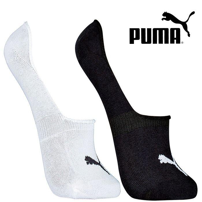 Meia Sapatilha Invisível Kit 2 Pares - Puma 39-42