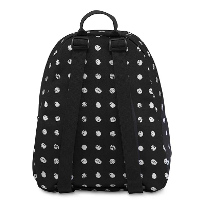 Mini Mochila JanSport Half Pint Black Sketch Dot