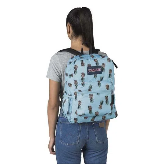 Mochila JanSport Cross Tonw - Leopard pineapples - 26L