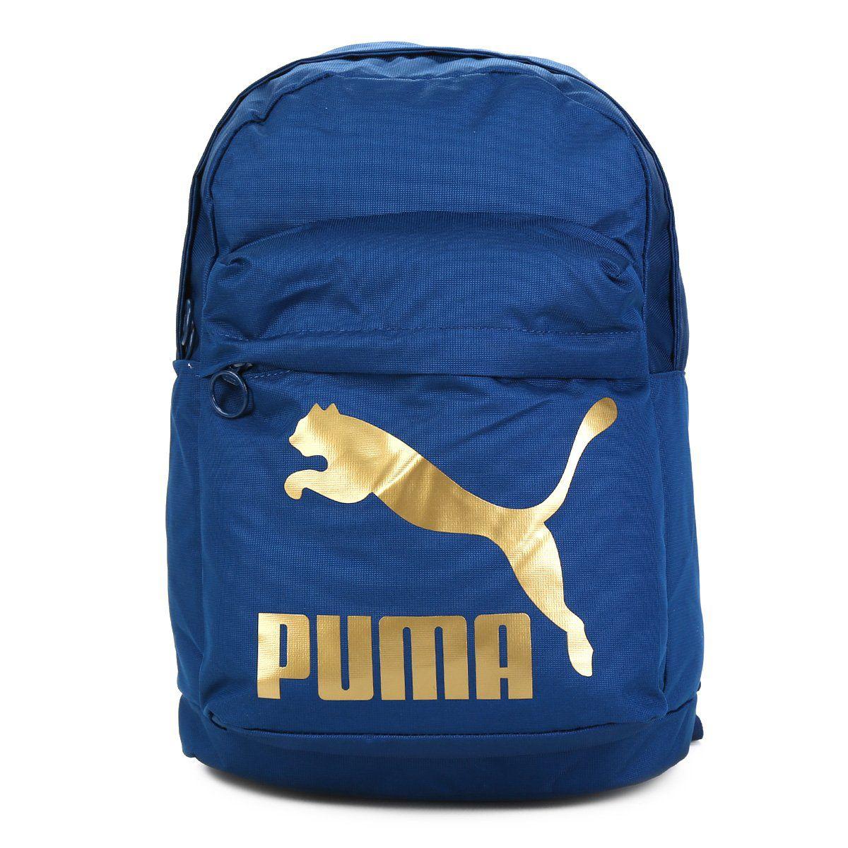 Mochila Puma Azul - Original