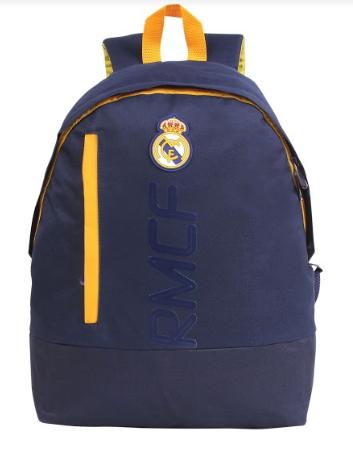 Mochila Real Madrid Azul \ Amarelo Original - Licenciado