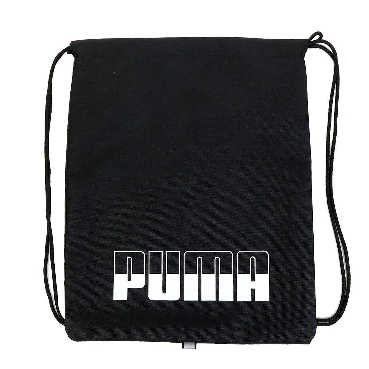 Mochila saco PumaPlus Gym Sack II - preto - Original