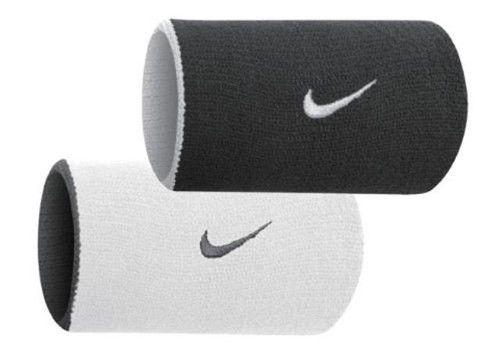 Munhequeira Dupla - Nike - Branco \ Preto