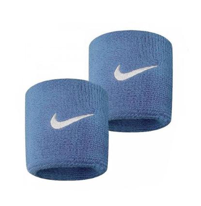 Munhequeira Peq Swoosh Wristband Nike Azul - R1