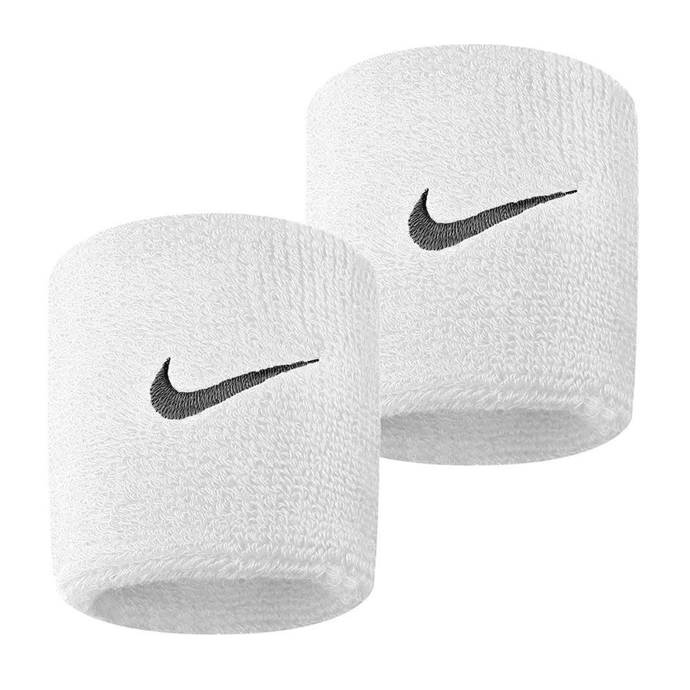 Munhequeira Peq Swoosh Wristband Nike Branco - R1