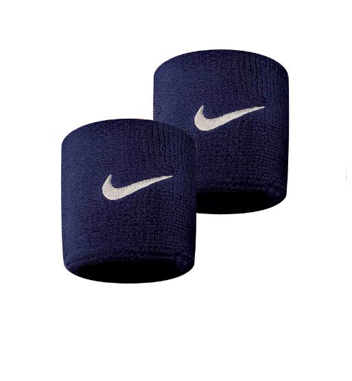 Munhequeira Peq Swoosh Wristband Nike - Azul Marinho