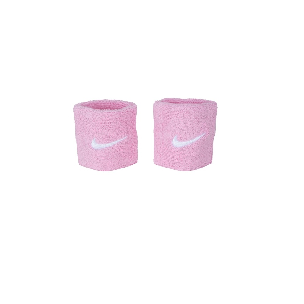 Munhequeira Peq Swoosh Wristband - Nike - Rosa