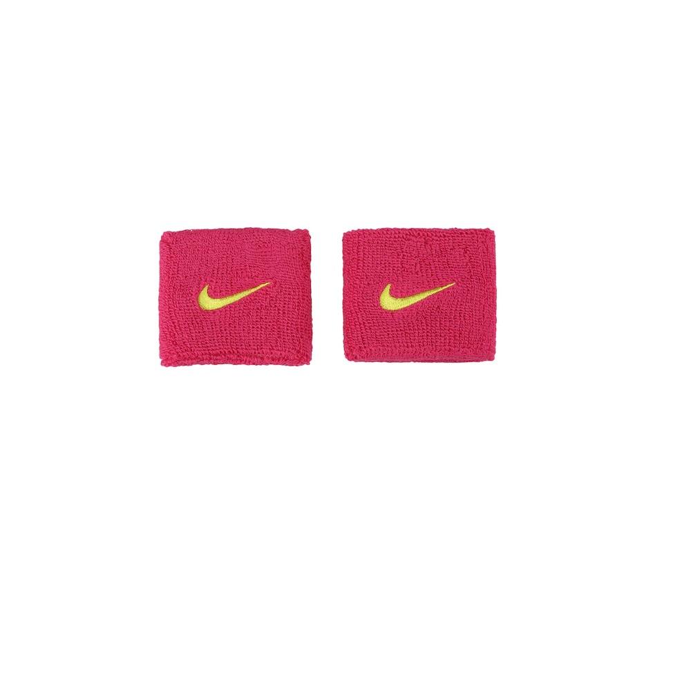 Munhequeira Peq Swoosh Wristband - Nike - Rosa Pink