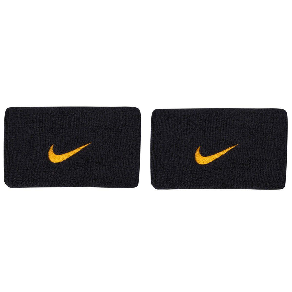 Munhequeira Swoosh double Wristband Nike - Marinho / Gold