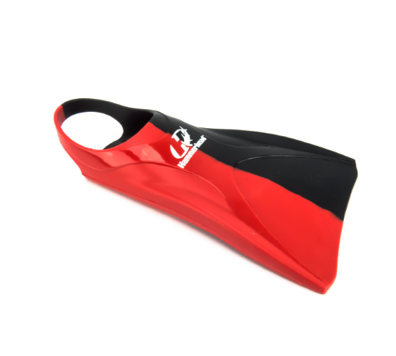 Nadadeira Hammerhead Premium Fins - Cinza/Vermelho