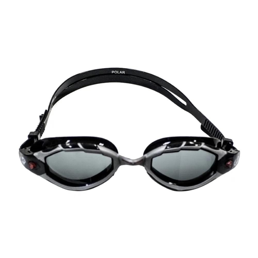 Óculos de Natação Hammerhead Polar - Preto/Cinza/Fumê