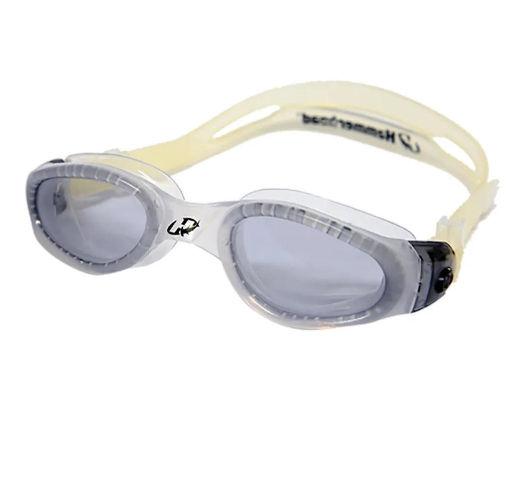 Óculos de Natação Hammerhead Ranger - triathlon - transparent/fumê