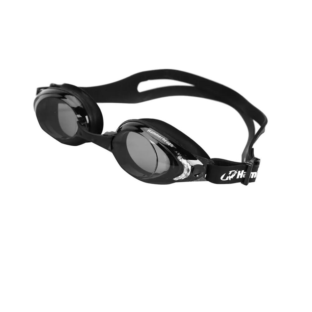 Óculos de Natação Hammerhead Velocity 4.0 - Fitness - preto/fumê