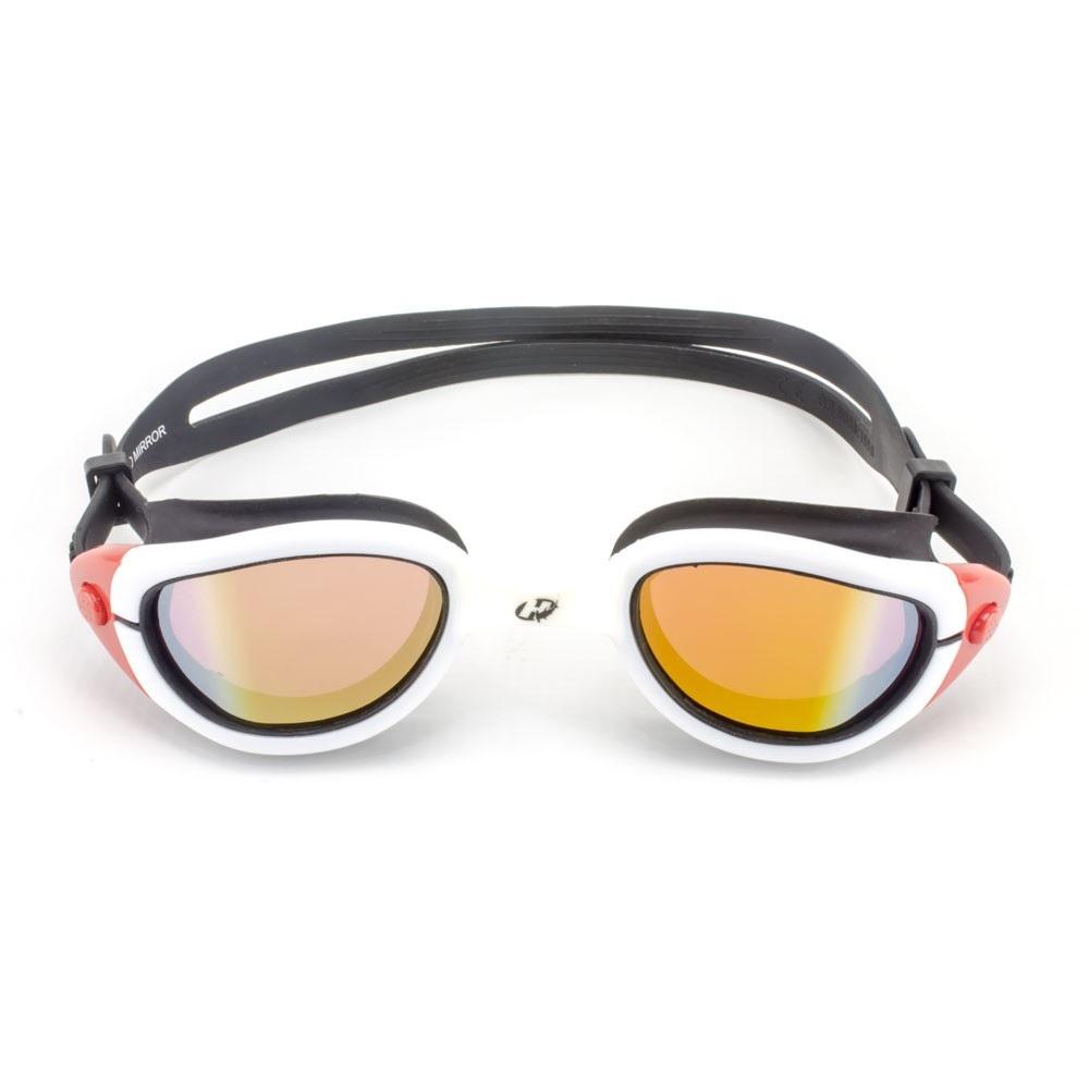 Óculos de Natação Hammerhead wave pro Mirror - Brano/Vermelho/Preto