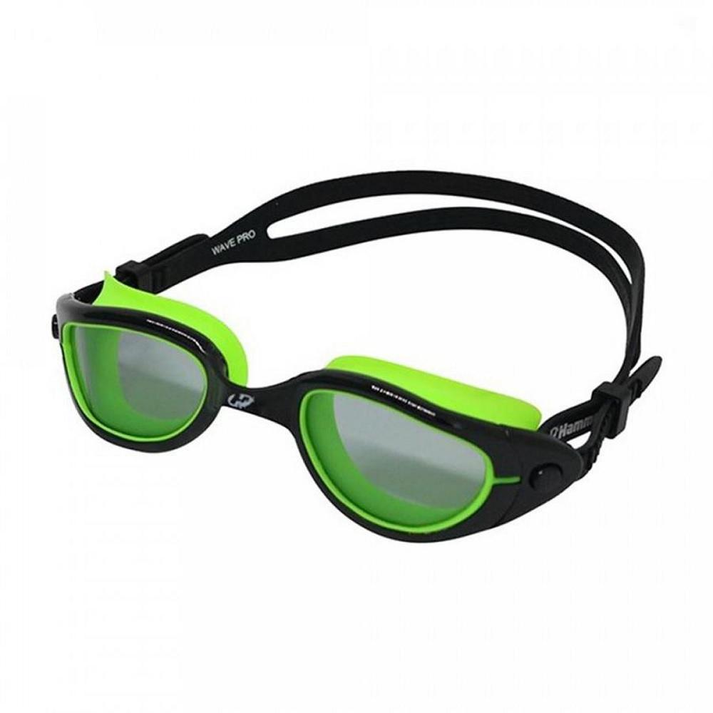 Óculos de Natação Hammerhead wave pro - Preto/verde