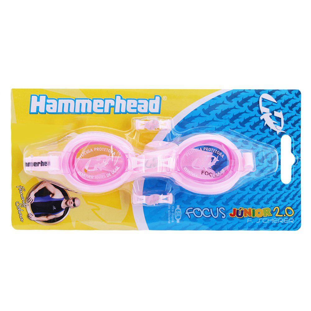 Óculos Hammerhead F. Scherer Focus Junior 2.0 - Rosa