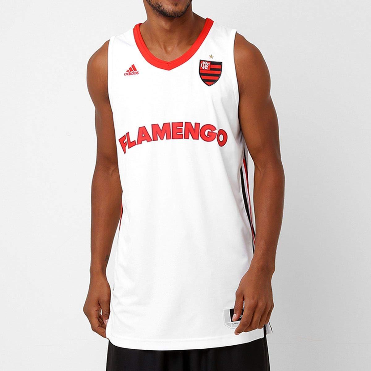 Regata Adidas Flamengo Basquete Oficial