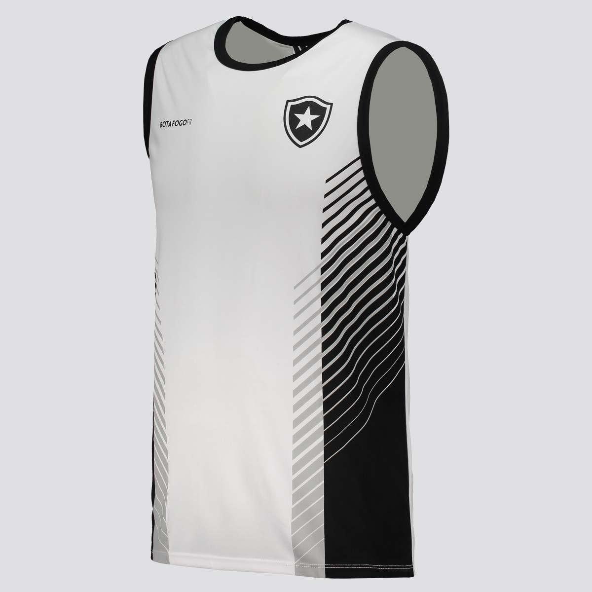 Regata Braziline Botafogo Found Masculina - Branco