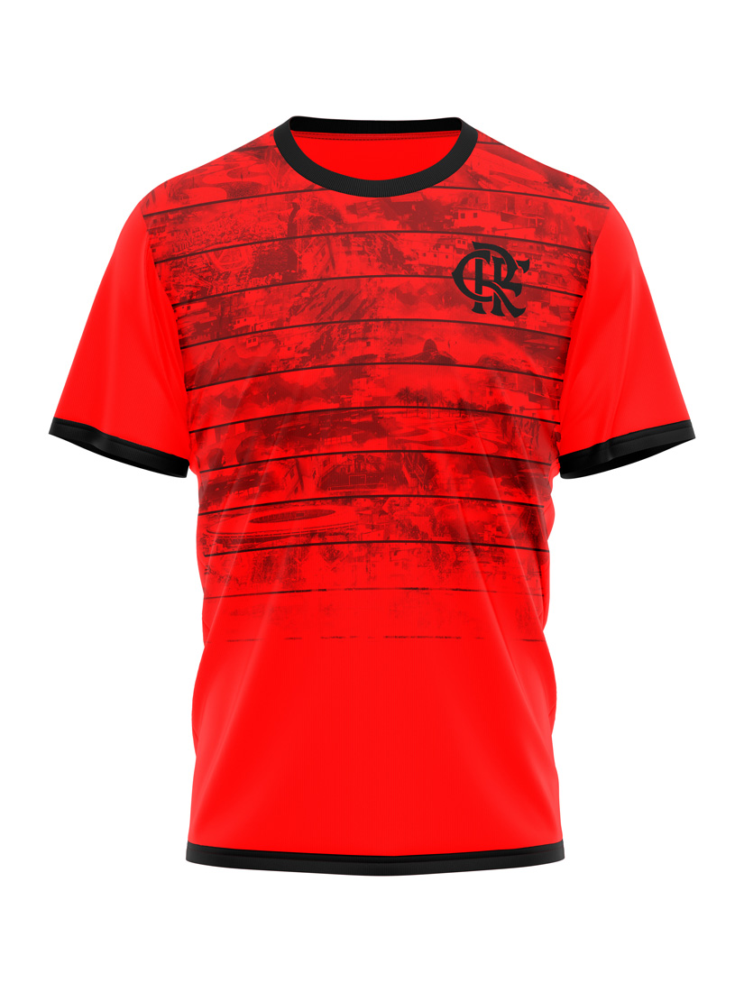 Regata Braziline Flamengo scrull - Masculino