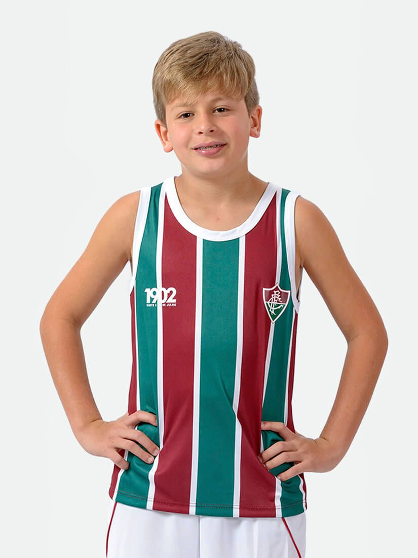 Regata Braziline Partner CR Fluminense Infantil