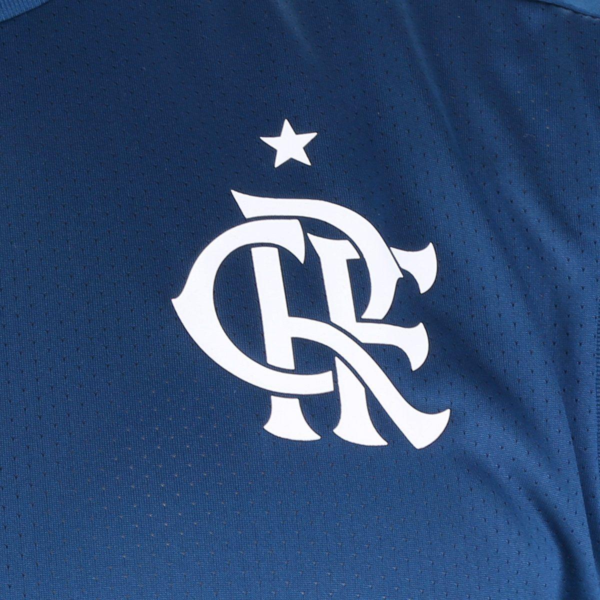 Regata Flamengo Treino 20/21 Masculina - Adidas - Azul