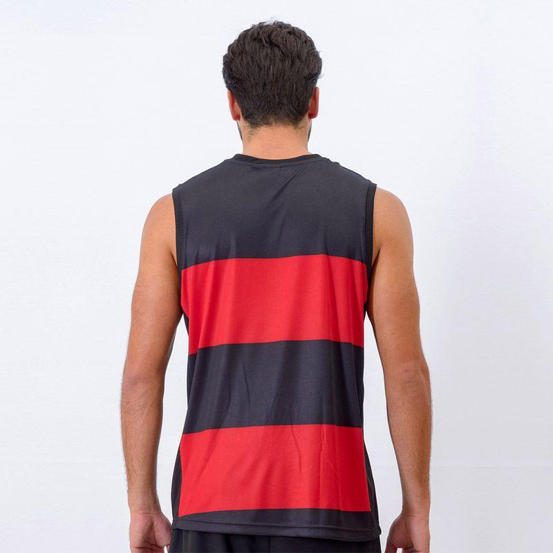 Regata Hoop Masculina Flamengo Crf - Braziline