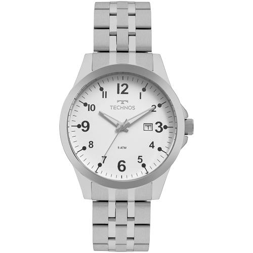 Relógio Technos Analógico Classic Steel Prata - 2115MQC/1B