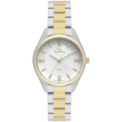 Relógio Technos Prata Elegance 2036MKS/5B