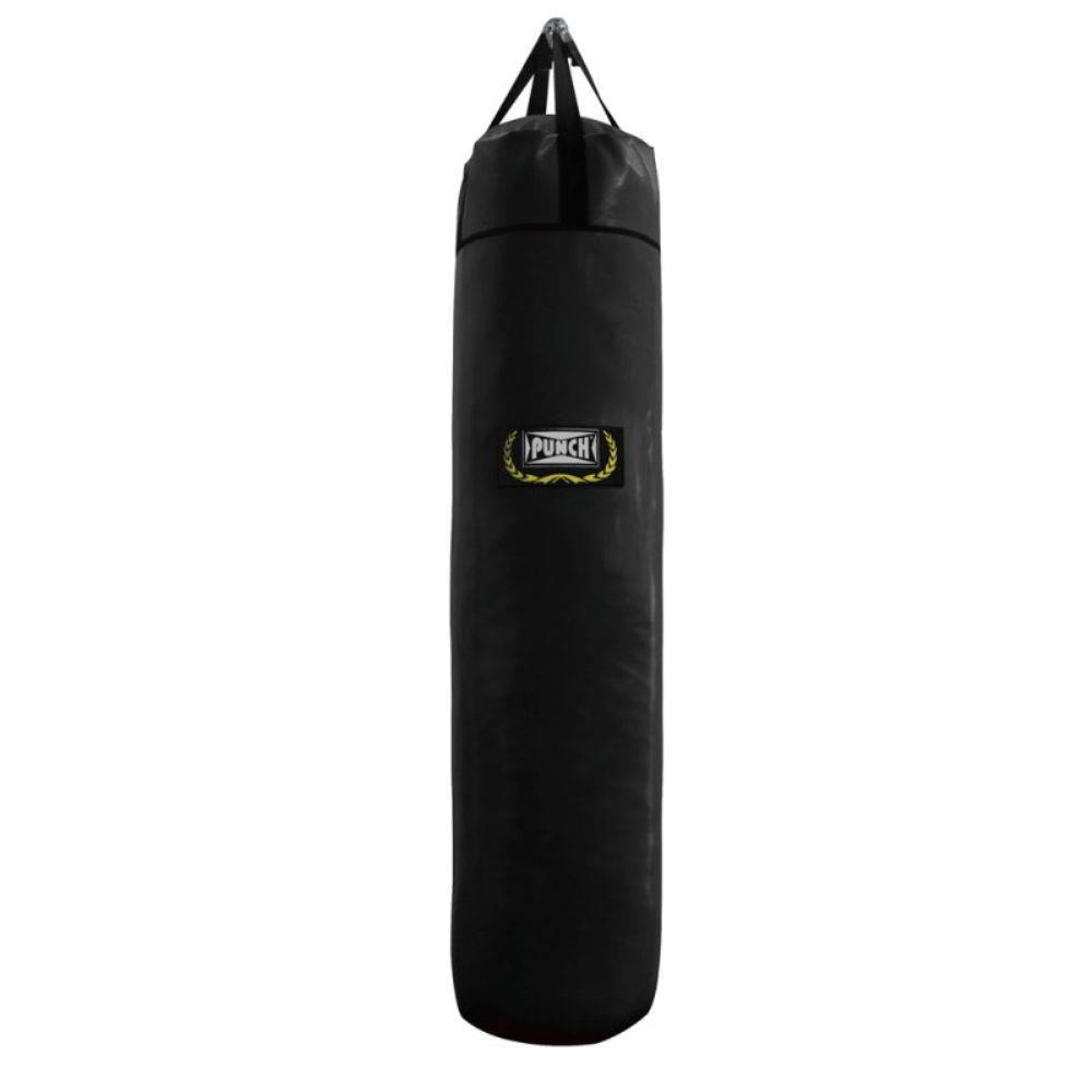 Saco De Pancada Punch Com Fita - Preto 1,20cm