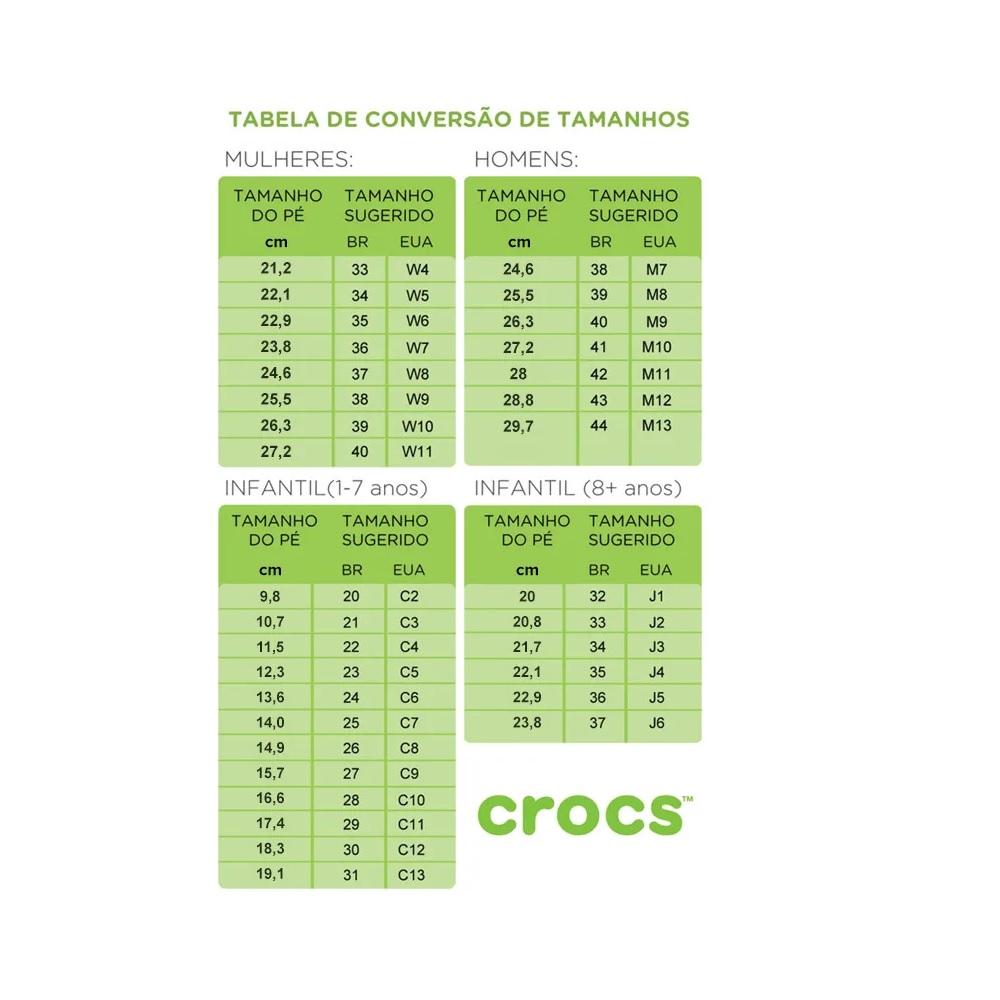 Sandália Crocs Classic - Black
